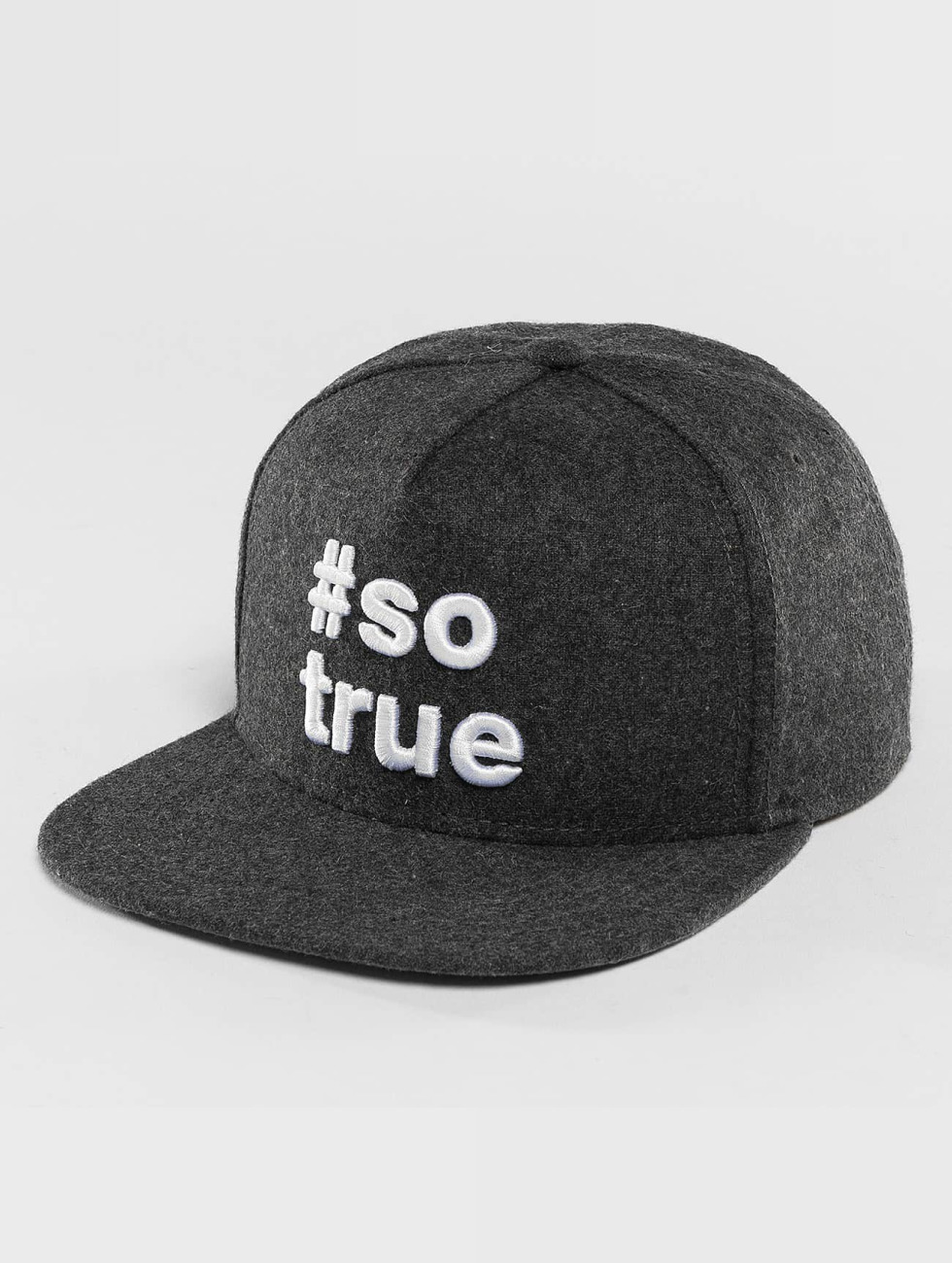 Just Rhyse Snapback Cap Being True grey