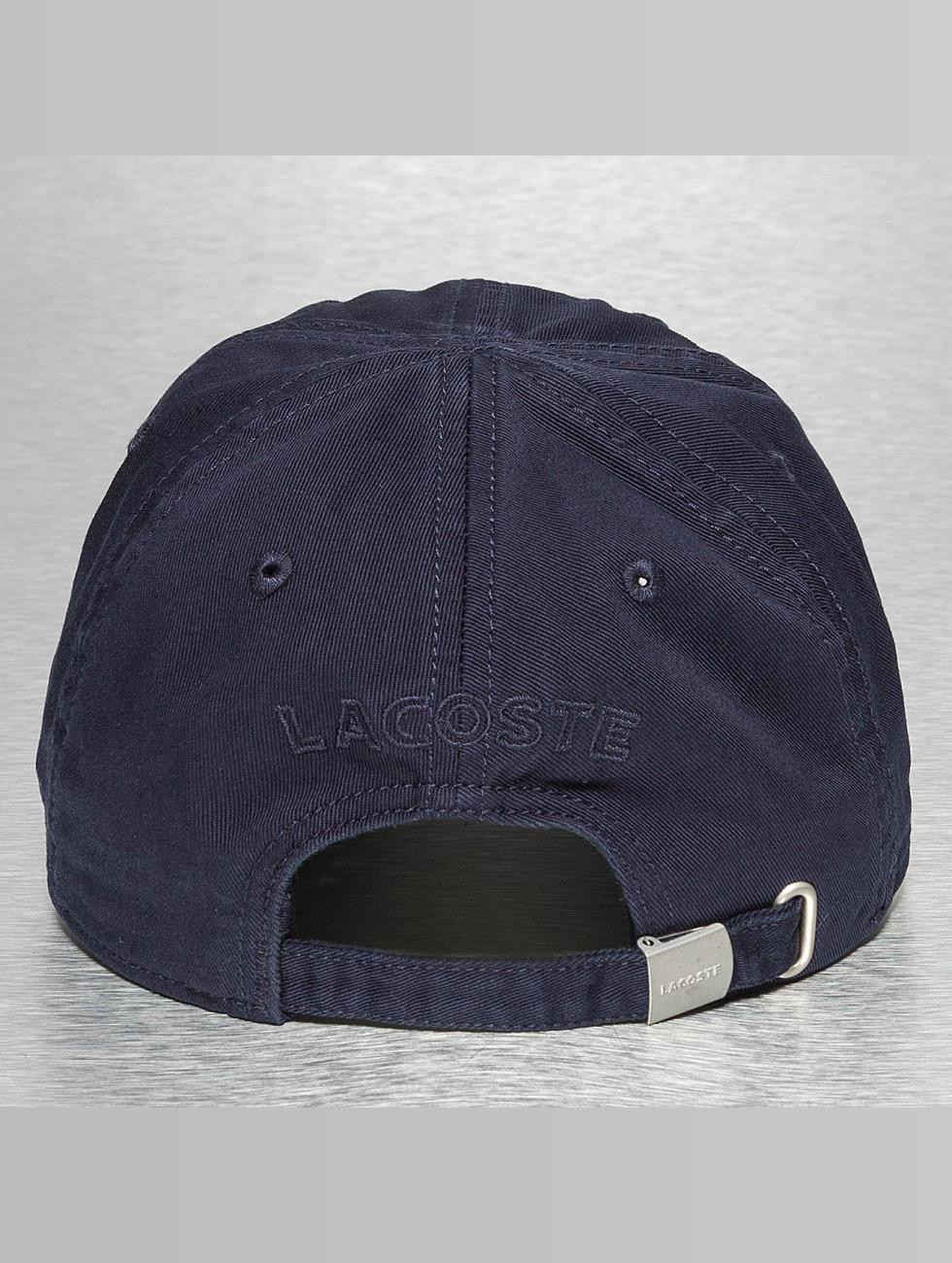 Lacoste Snapback Cap Gabardine Croc Strapback Cap blau
