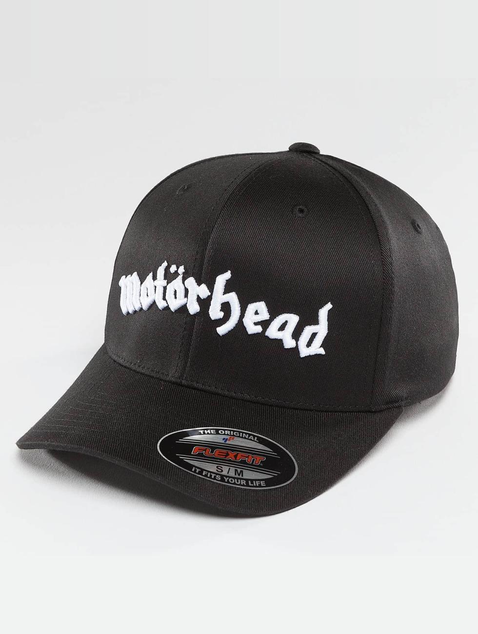 Merchcode Lastebilsjåfør- / flexfitted caps Motörhead svart