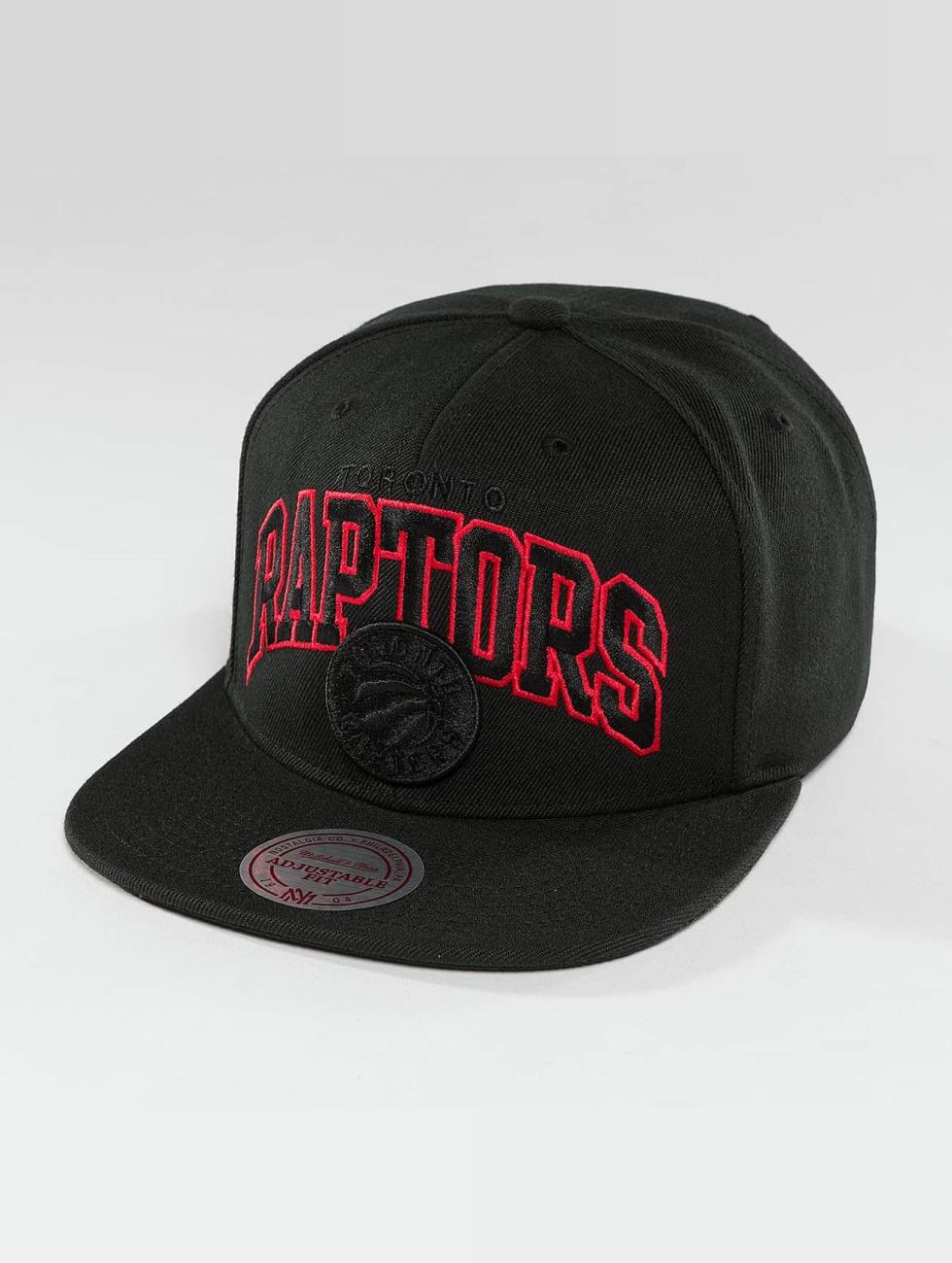 Mitchell & Ness Gorra Snapback Red Pop Toronto Raptors negro