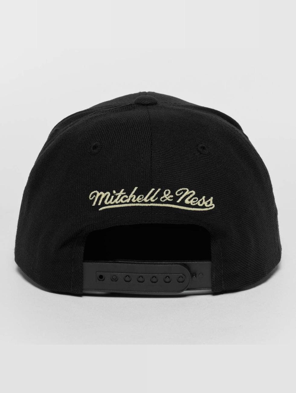 Mitchell & Ness Gorra Snapback Raised Perimeter Own negro