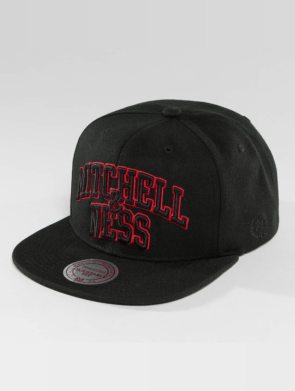 Mitchell & Ness Snapback Caps Red Pop Team Arch musta
