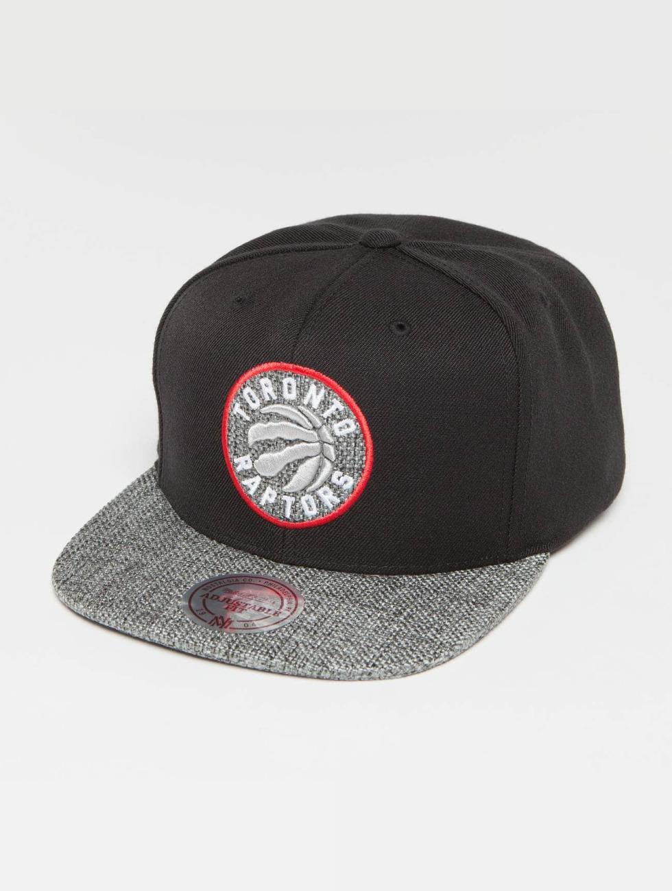 Mitchell & Ness Snapback Caps Woven TC NBA Toronto Raptors musta