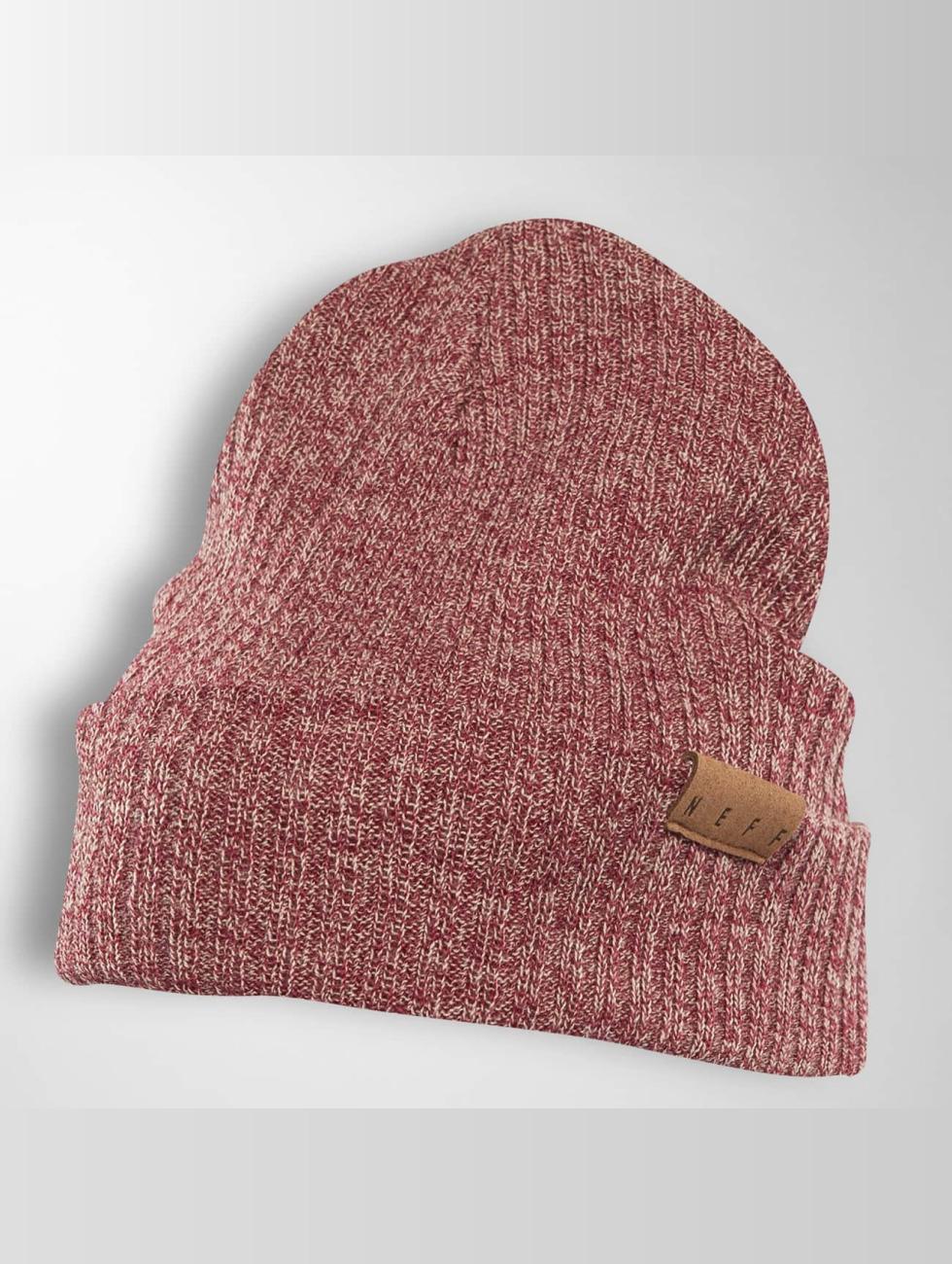 1a2c5034c5 NEFF | Fold Merino rouge Bonnet 382185