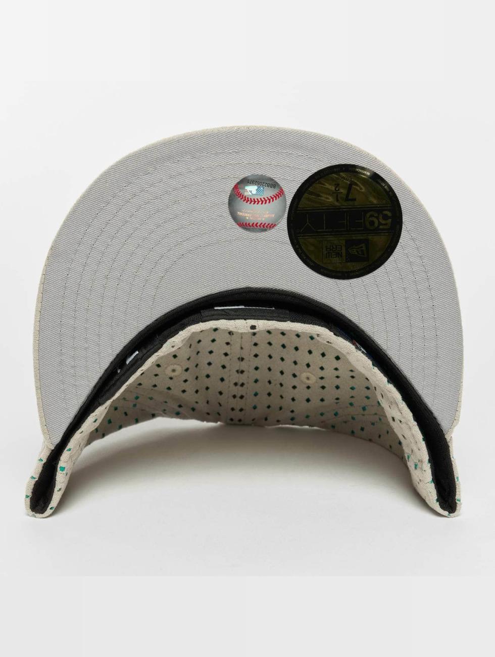 New Era Baseballkeps Suede Perf NY Yankees 59Fifty grå