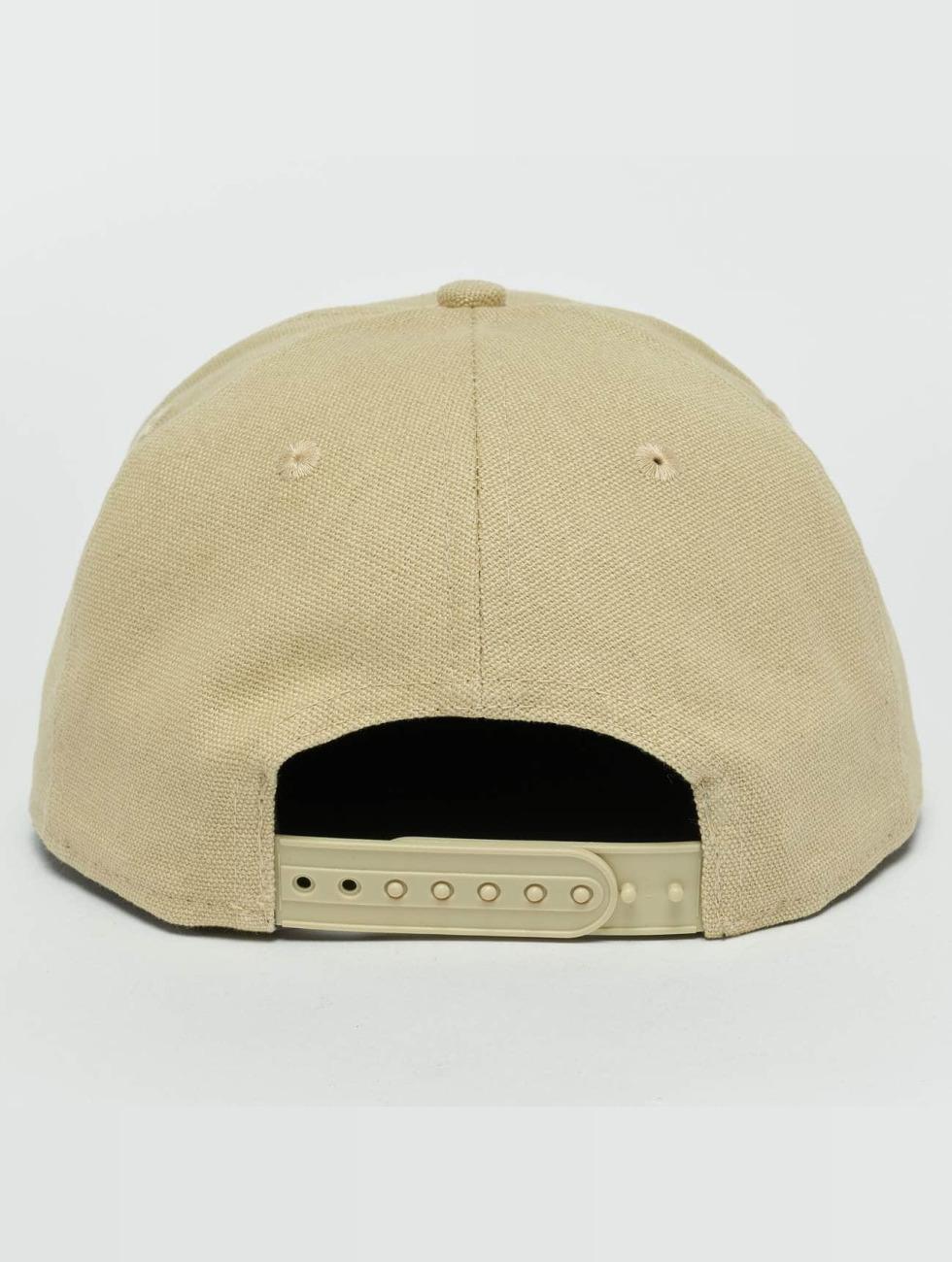 New Era Casquette Snapback & Strapback Canvas LA Dodgers 9Fifty beige