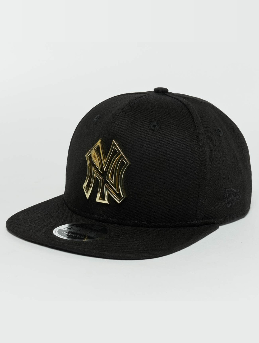 New Era Casquette Snapback & Strapback Metal Badge NY Yankees noir