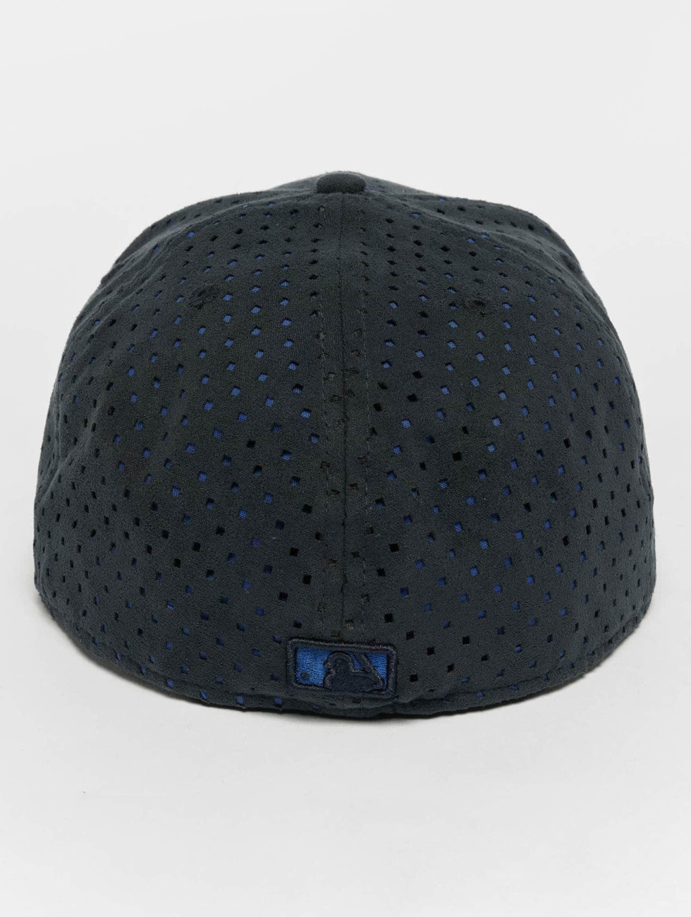 New Era Fitted Cap Suede Perf NY Yankees 59Fifty blue