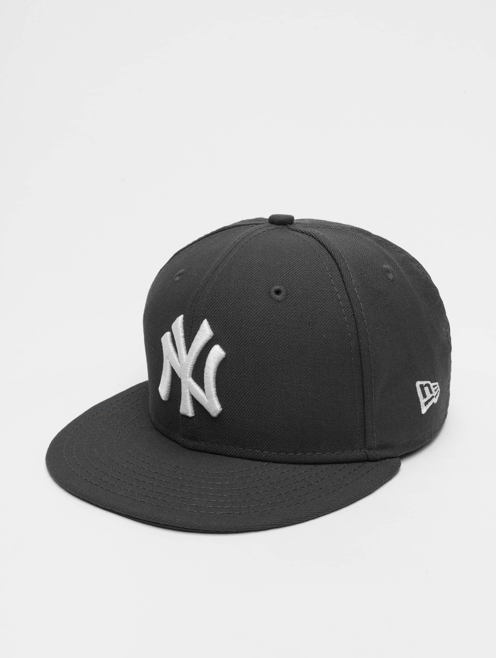 New Era Fitted Cap  grijs