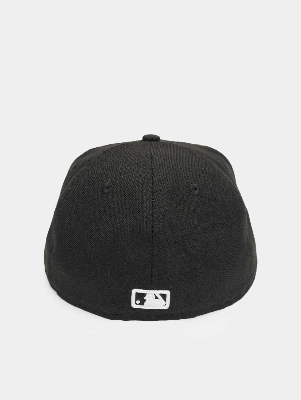 New Era Fitted Cap MLB Basic Atlanta 59Fifty zwart