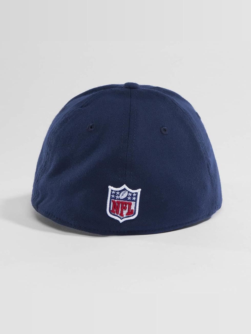 New Era Flexfitted Cap Team Poly Seattle Seahawks 9Fifty niebieski
