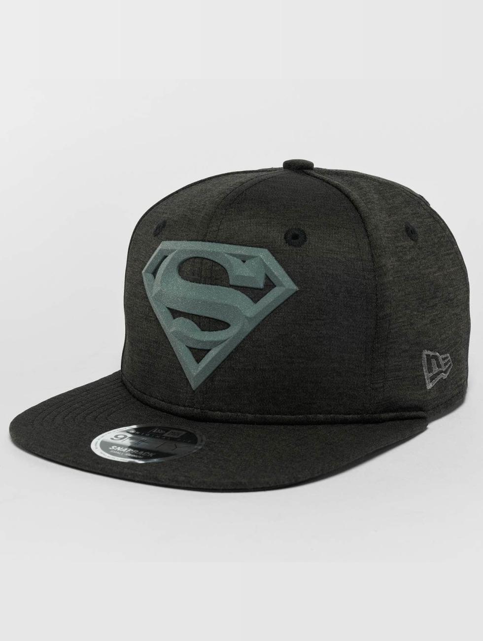 New Era Snapback Cap Concrete Jersey Superman 9Fifty black