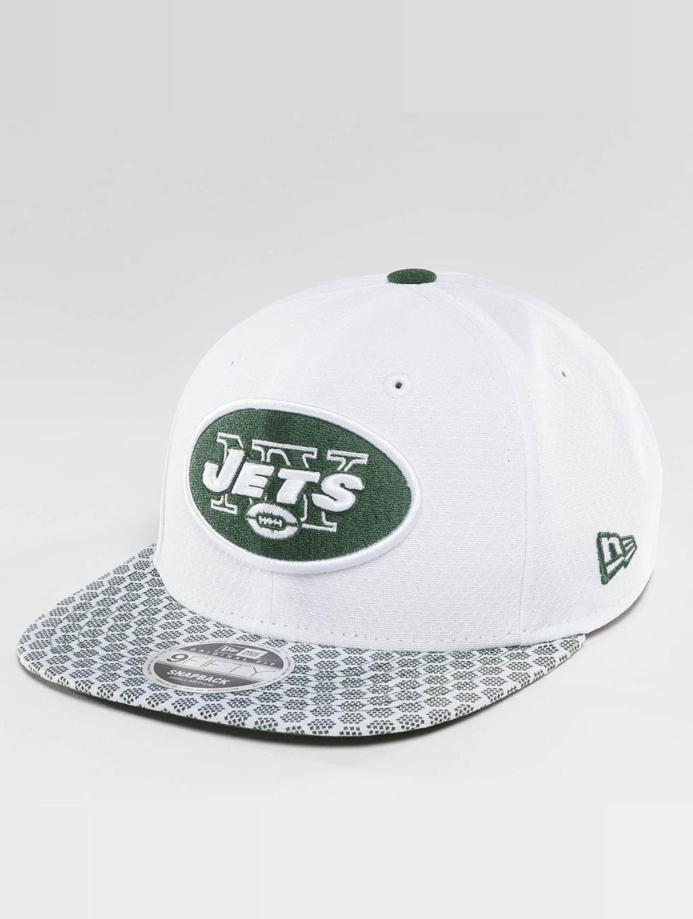 New Era Snapback Cap NFL On Field NY Jets 9Fifty white