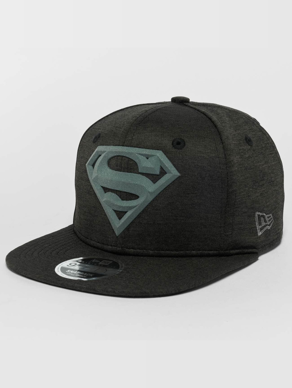 New Era Snapback Caps Concrete Jersey Superman 9Fifty čern
