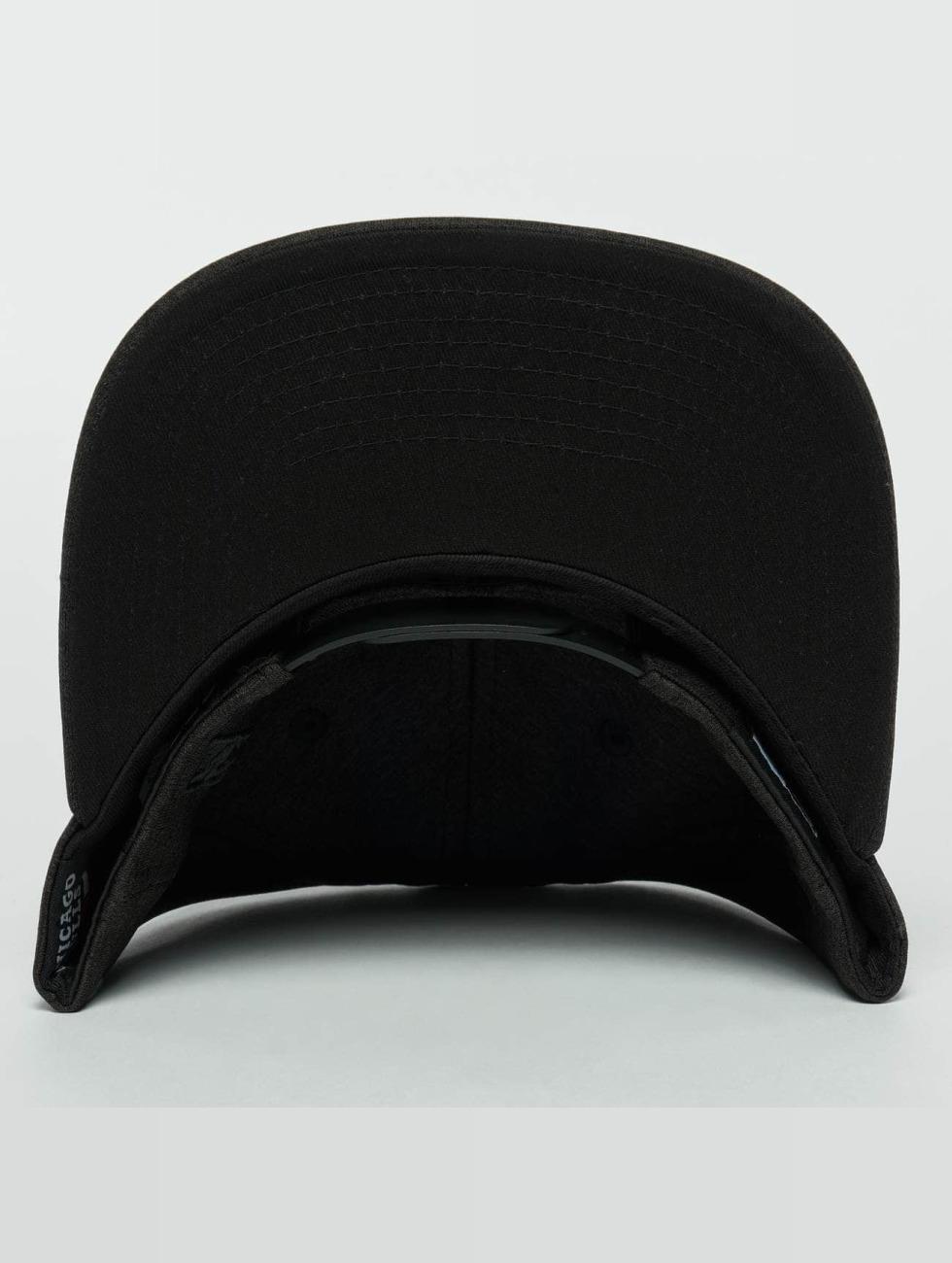 New Era Snapback Caps Concrete Jersey Chicago Bulls 9Fifty čern