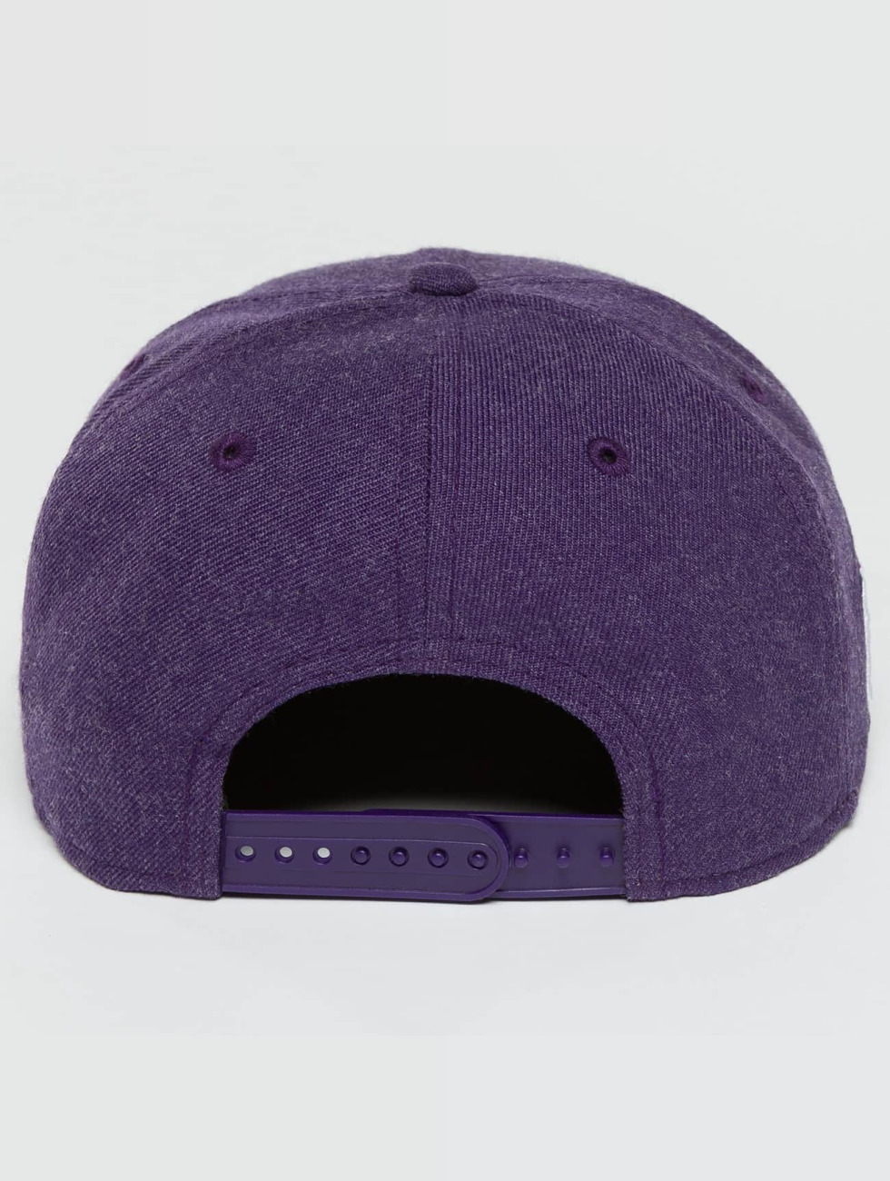 New Era Snapback Caps Team Heather LA Lakers fioletowy