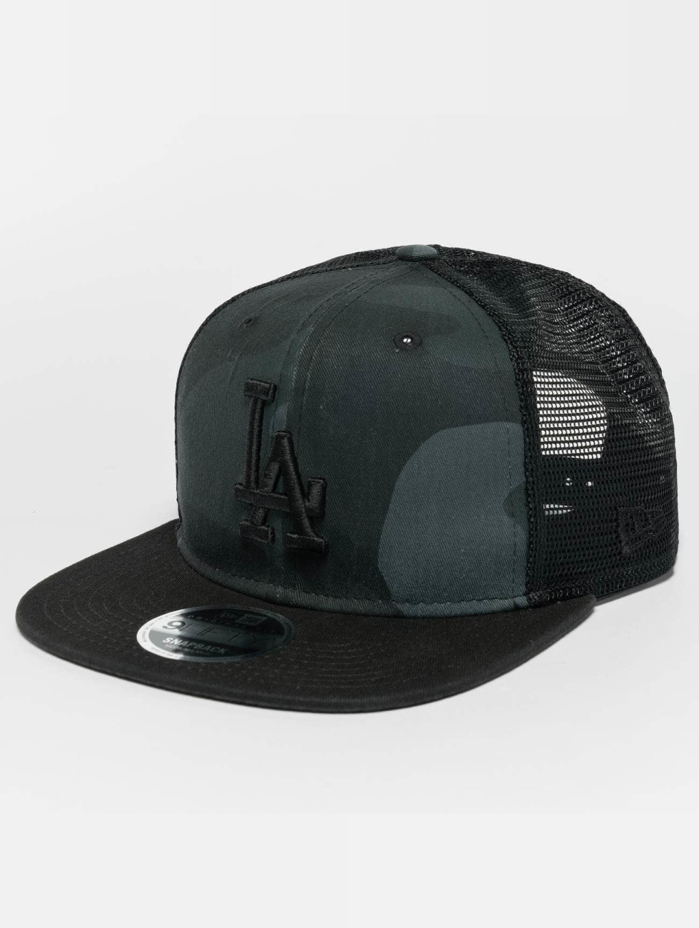 New Era Snapback Caps Washed Camo LA Dodgers moro