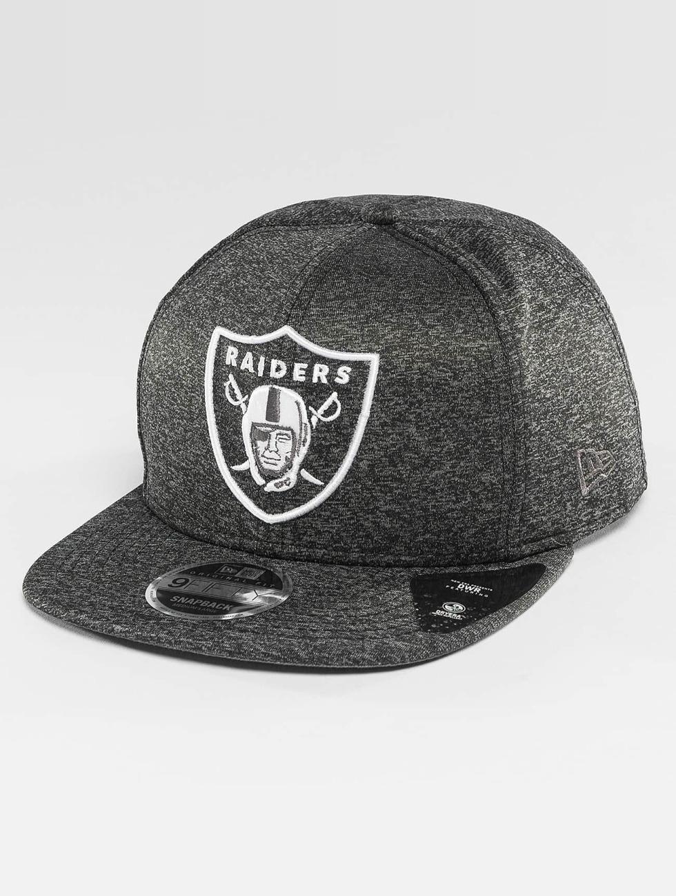 New Era Snapback Caps Jersey Tech Oakland Raiders 9Fifty szary