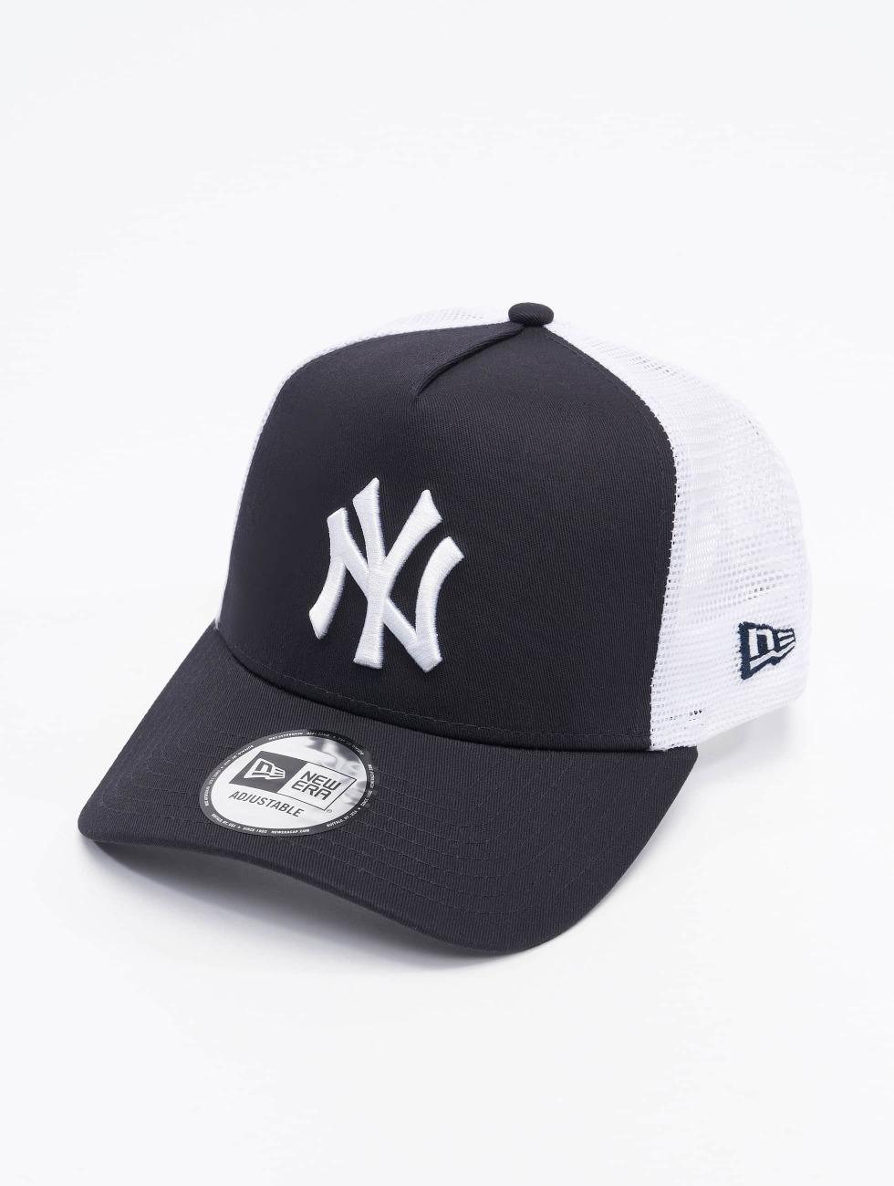 New Era Trucker Caps Clean NY Yankees blå