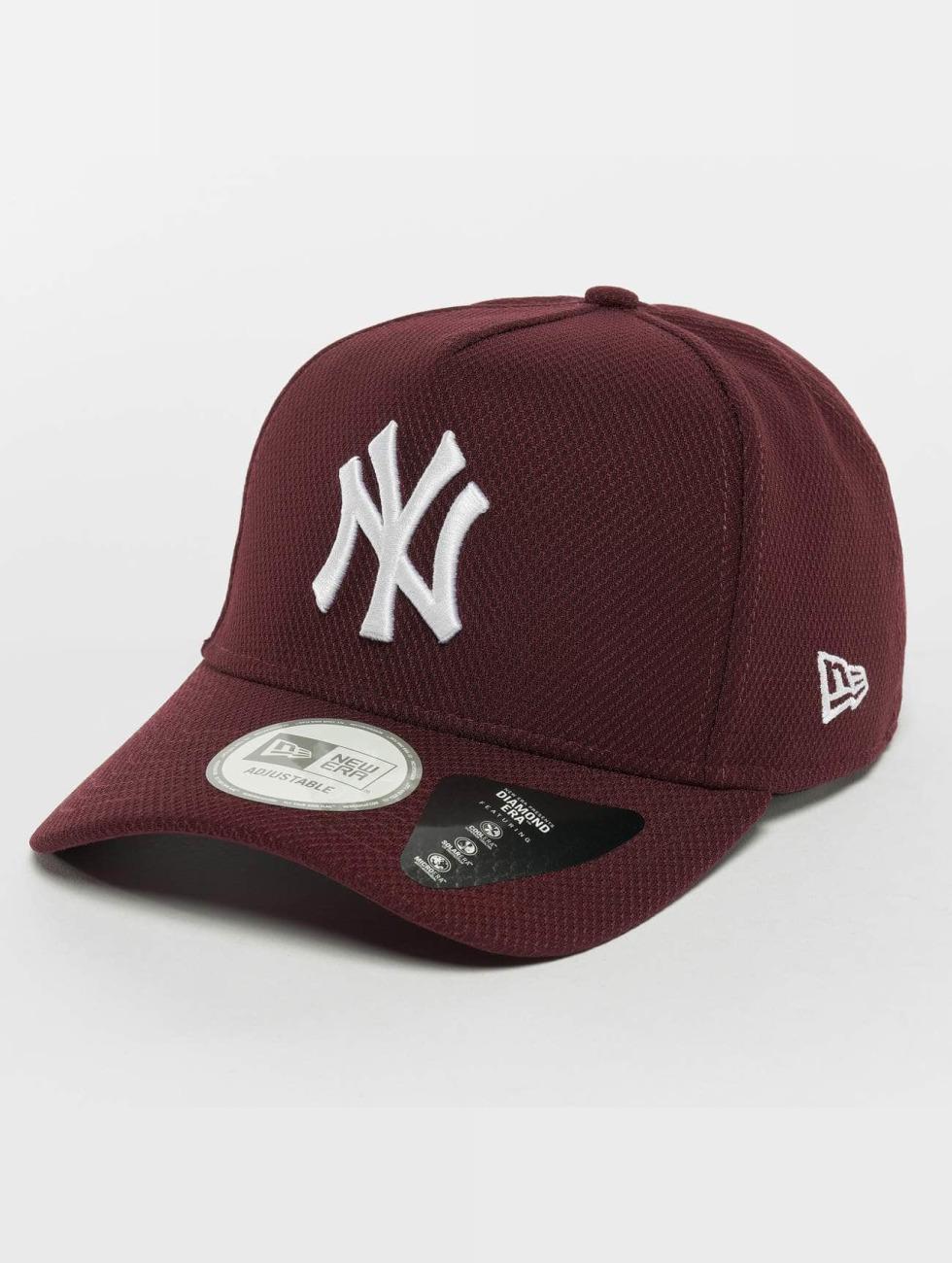New Era Trucker Caps Diamond Era NY Yankees czerwony