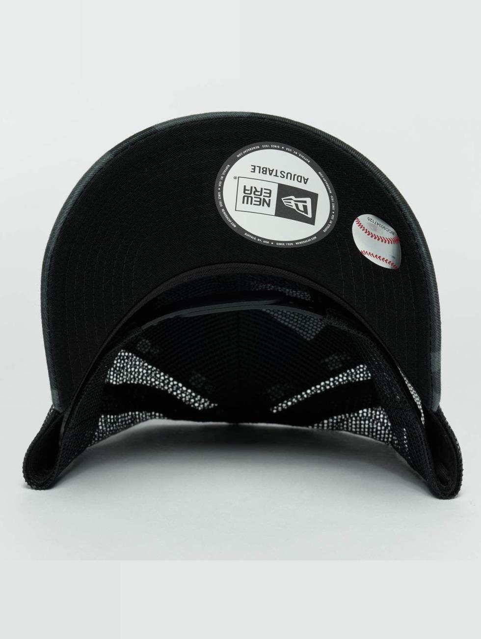 New Era Trucker Caps Washed Camo NY Yankees Trucker Cap kamuflasje
