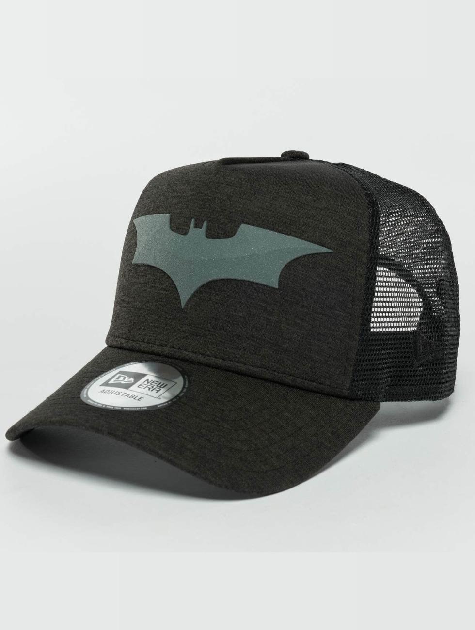New Era Truckerkeps Concrete Jersey Batman svart