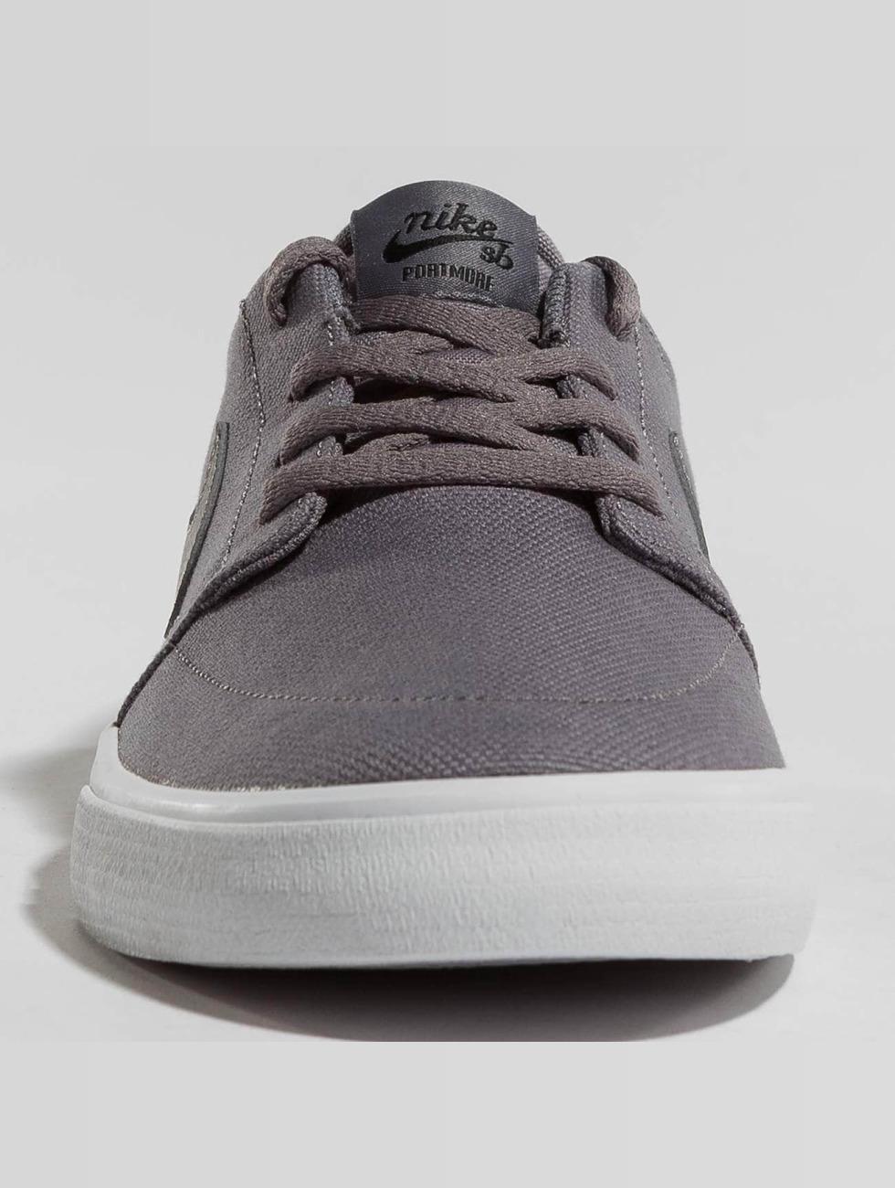 Nike Sb Scarpa / Sneaker Sb Solare Francobollo Dedicato Altre Tela Ii Skateboard In Grigio 442.812 Nbf0MszArM