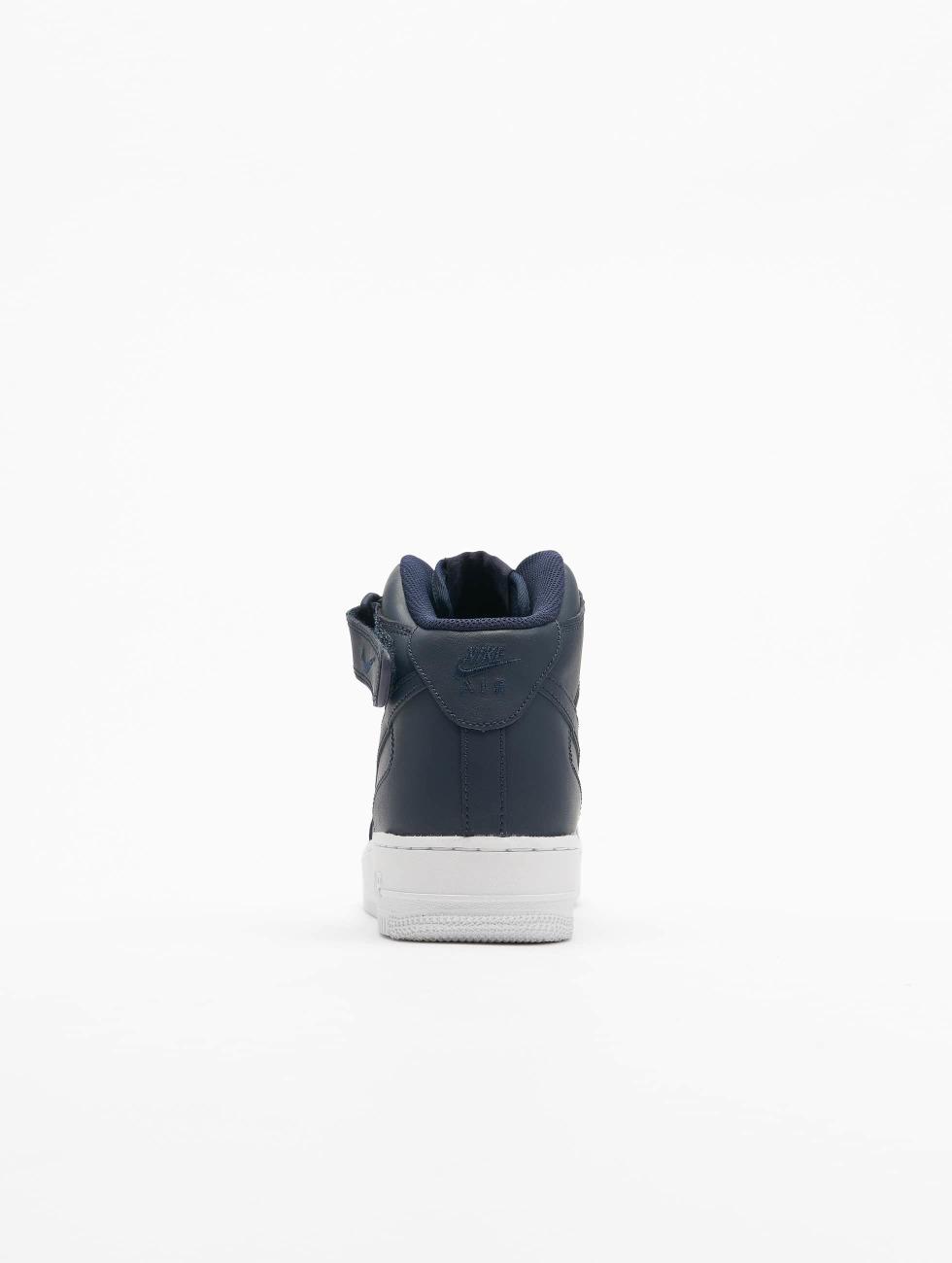 Nike Scarpa / Sneaker Air Force 1 Mid '07 In Blu 421 947 J7jx0S