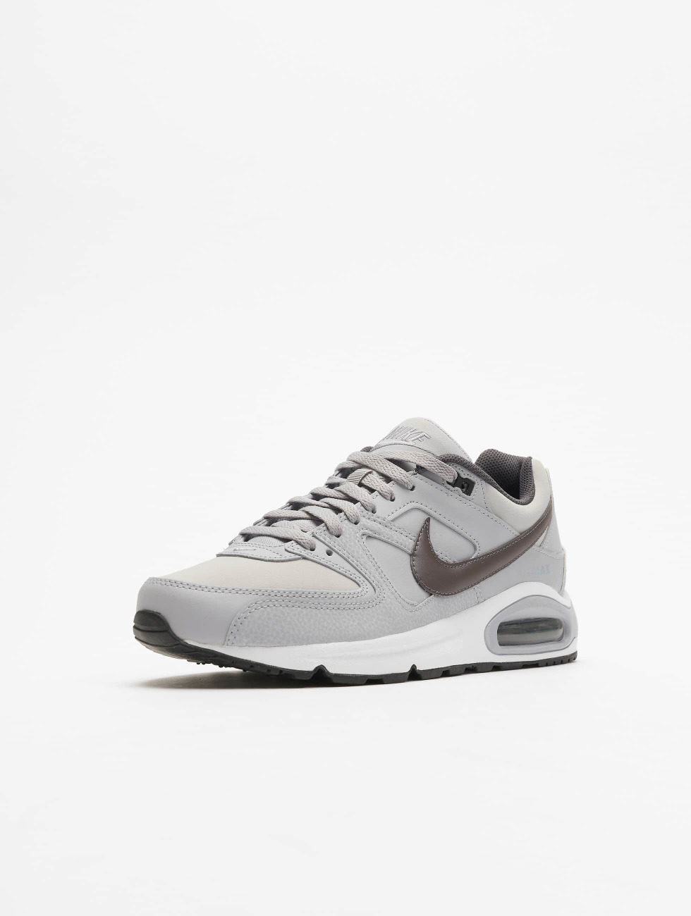 Nike schoen / sneaker Air Max Command Leather in grijs 256990 Releasedatums Goedkope Online 5JDbM