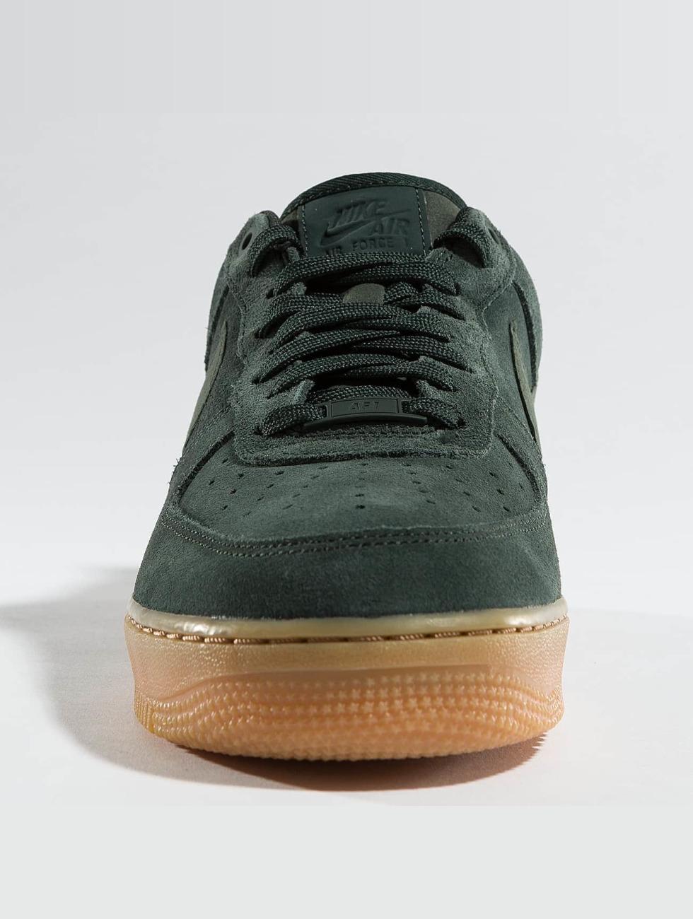 Nike Scarpa / Sneaker Air Force 1 '07 Lv8 In Camoscio Verde 375998 u0IaXK8d