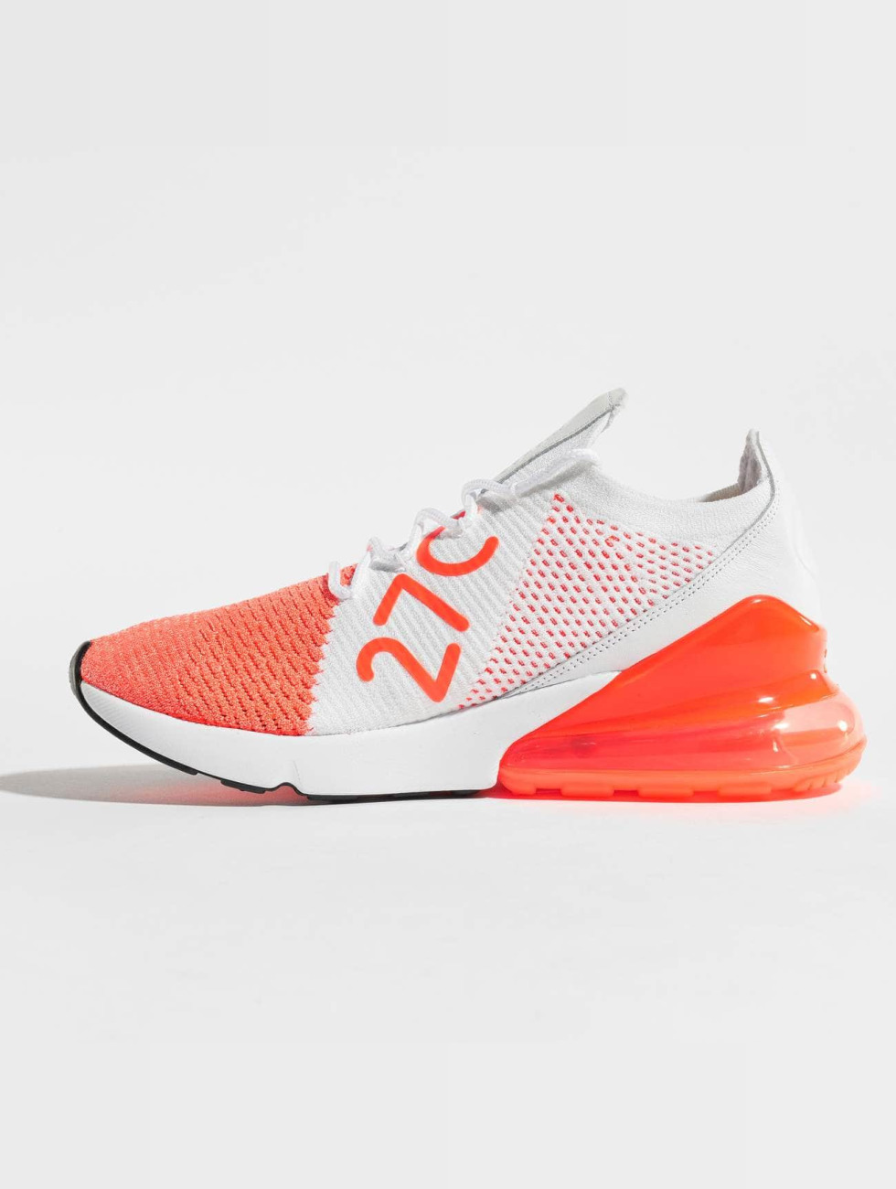 Nike Sneaker Air Max 270 Flyknit rosso