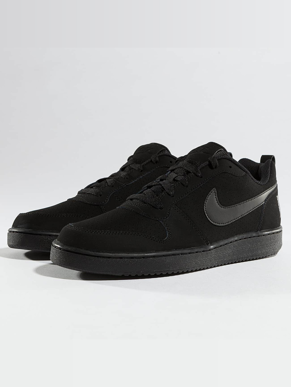 Nike Chaussures Court  Noir  Baskets Quartier Bas Noir  422238 f4e70d