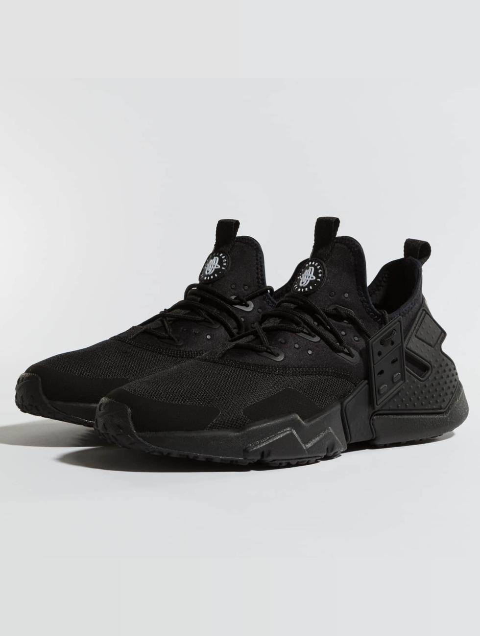 Nike Scarpa / Sneaker Huarache Dell'aria Deriva In Nero 422 982