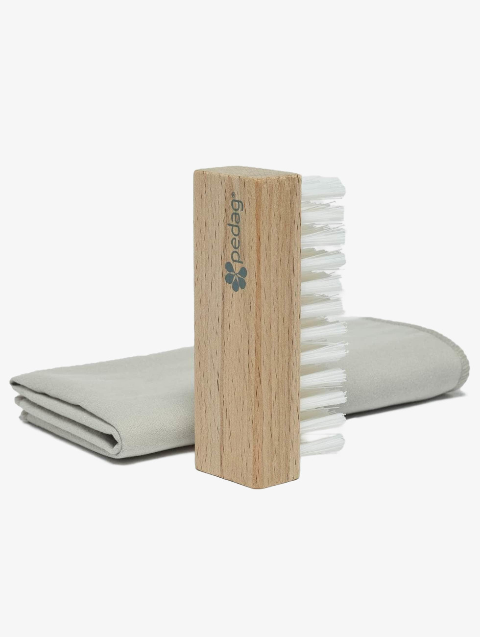 Pedag Verzorgingsproducten Cleansing Kit Brush & Microfiber bont
