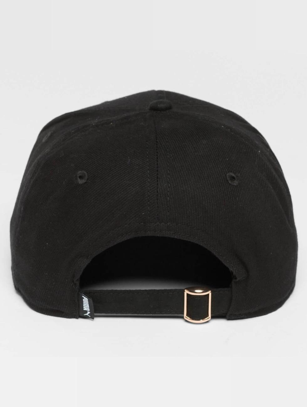 Puma snapback cap Archive Suede zwart
