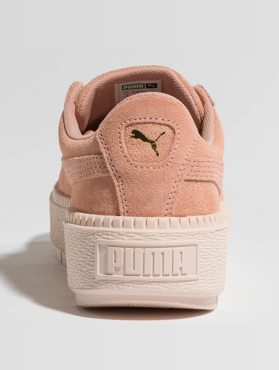 Puma Traccia Di Piattaforma Schoen / Sneaker In Rosa 425.835 xaujnbOrqh