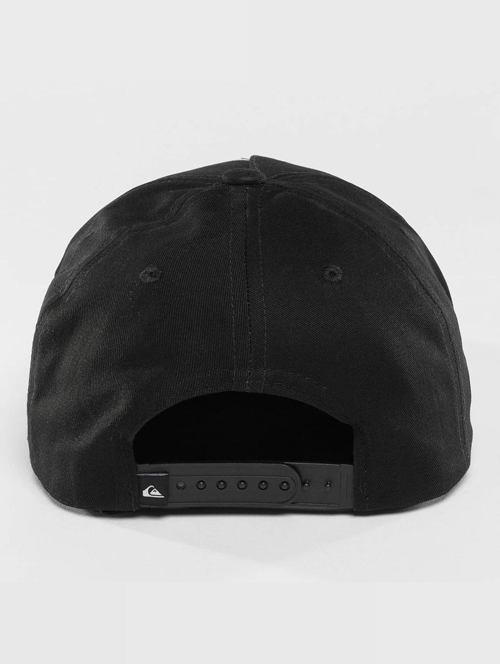 Quiksilver Snapback Caps Mouthy svart