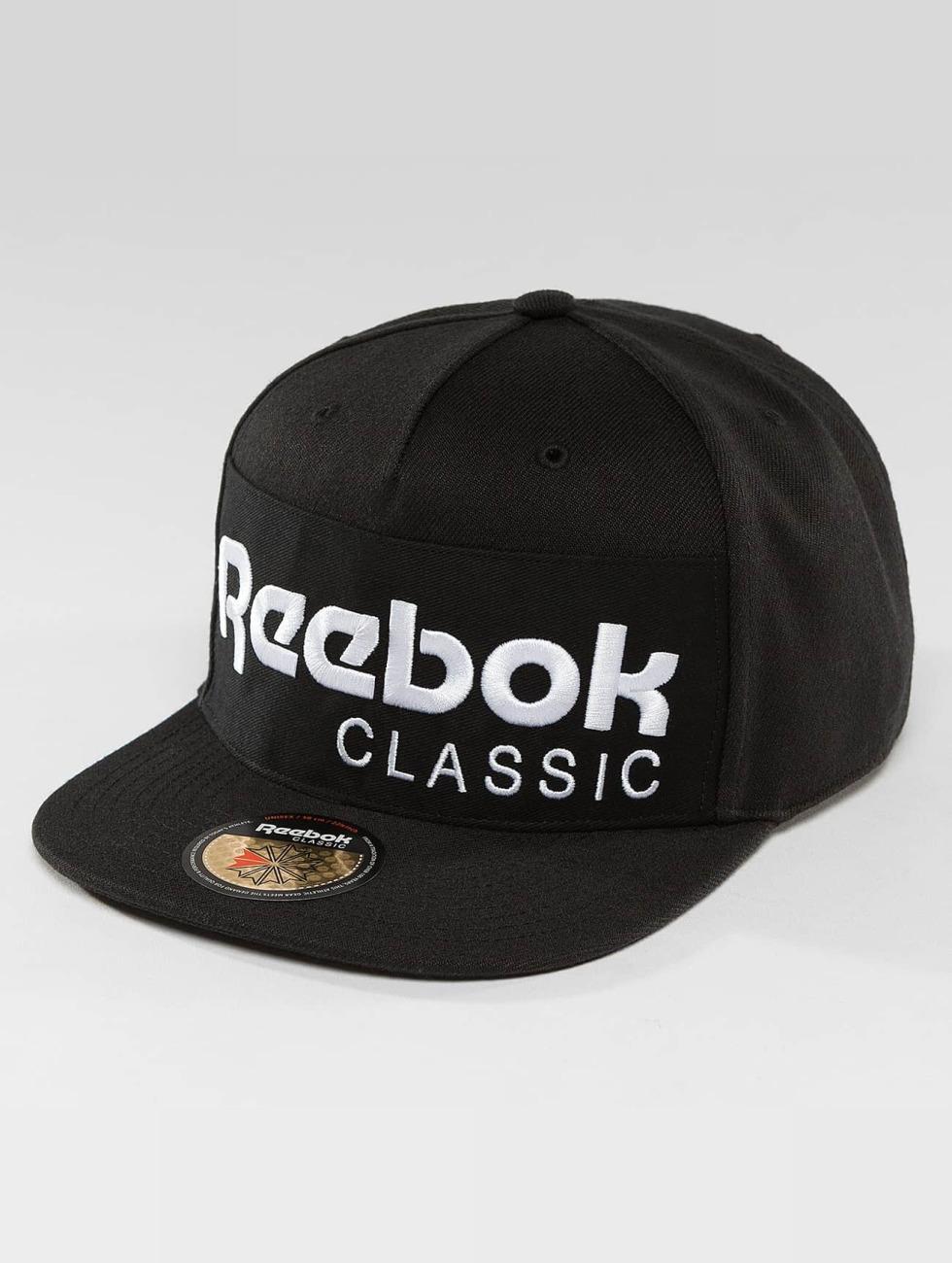 Reebok Snapback Caps Foundation czarny