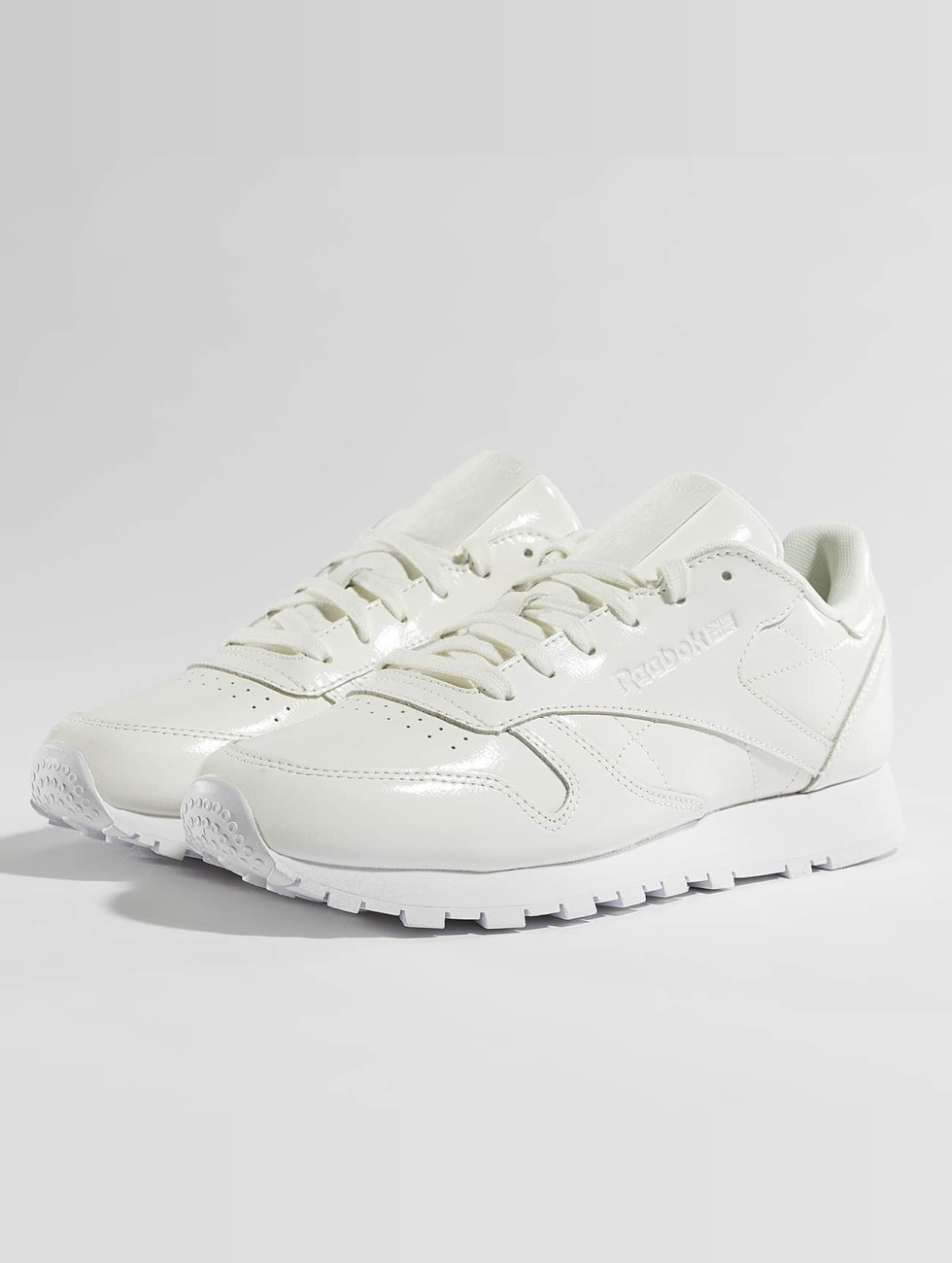 Reebok Sneakers Classic Leather Patent bialy