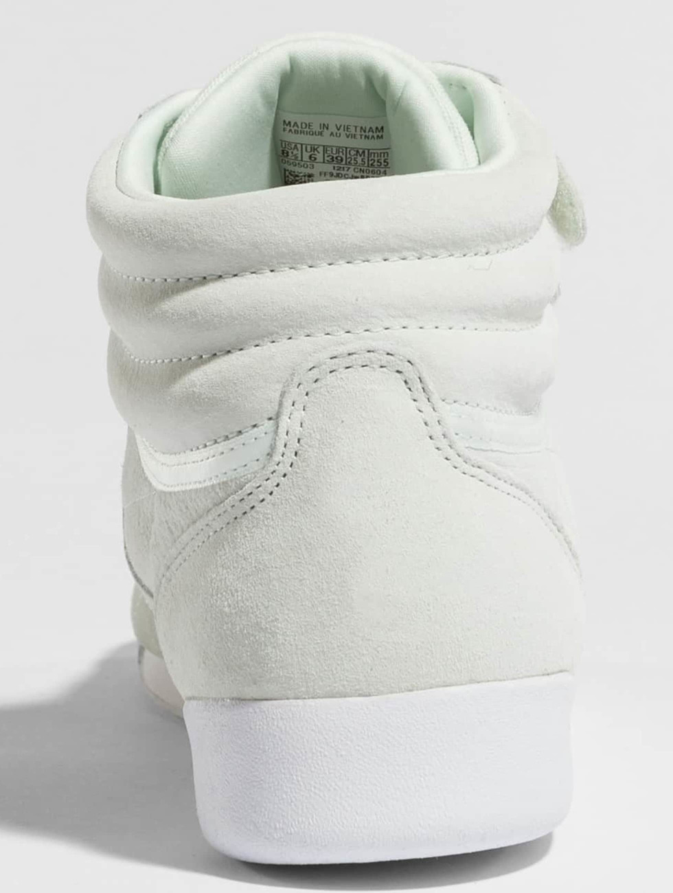 Reebok Sneakers Freestyle Hi Nubuk zielony