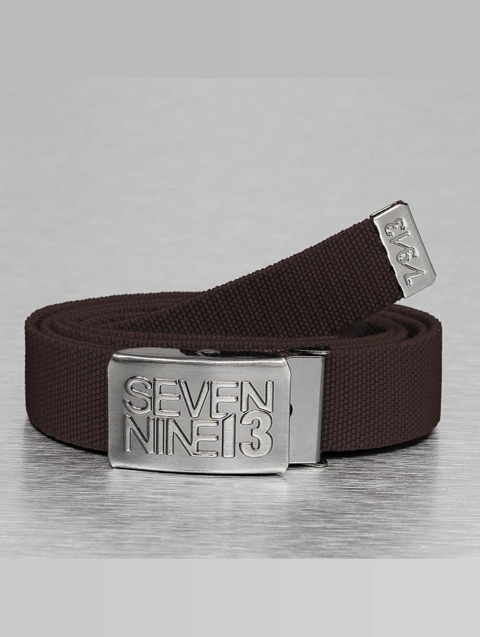 Seven Nine 13 riem Jaws Stretch bruin