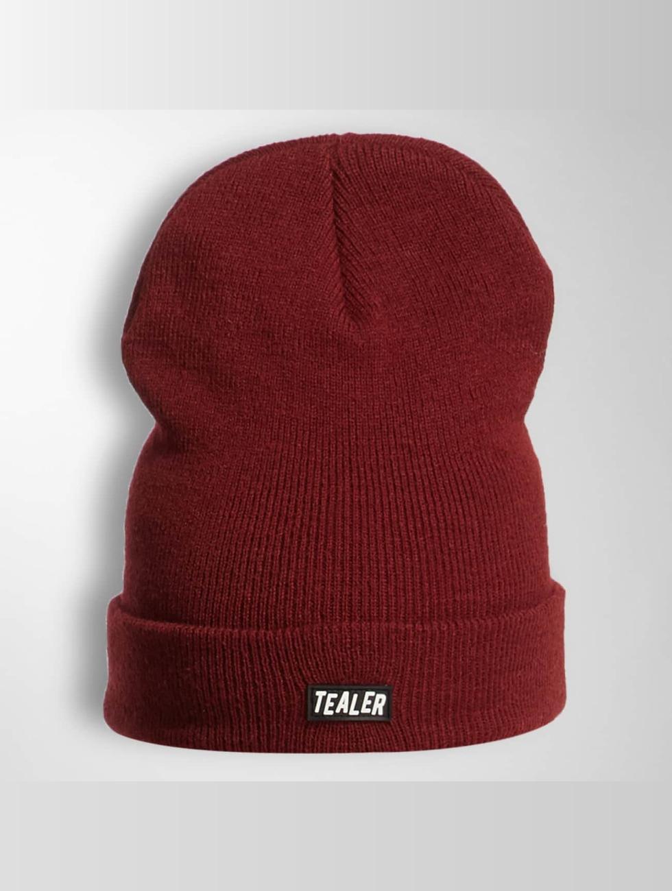 Tealer Czapki PVC Patch czerwony