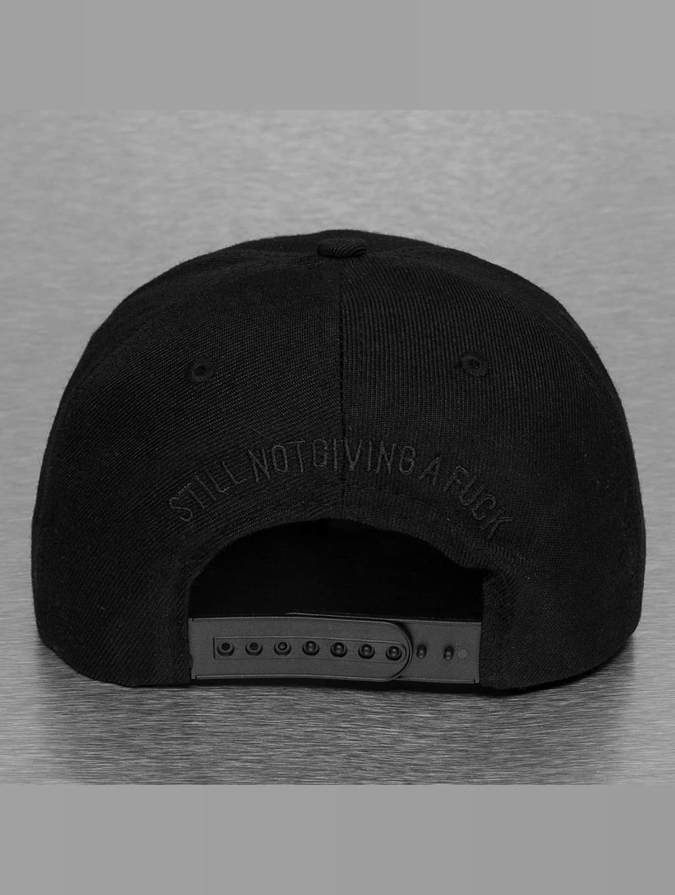 The Dudes Snapback Cap Unathletics black