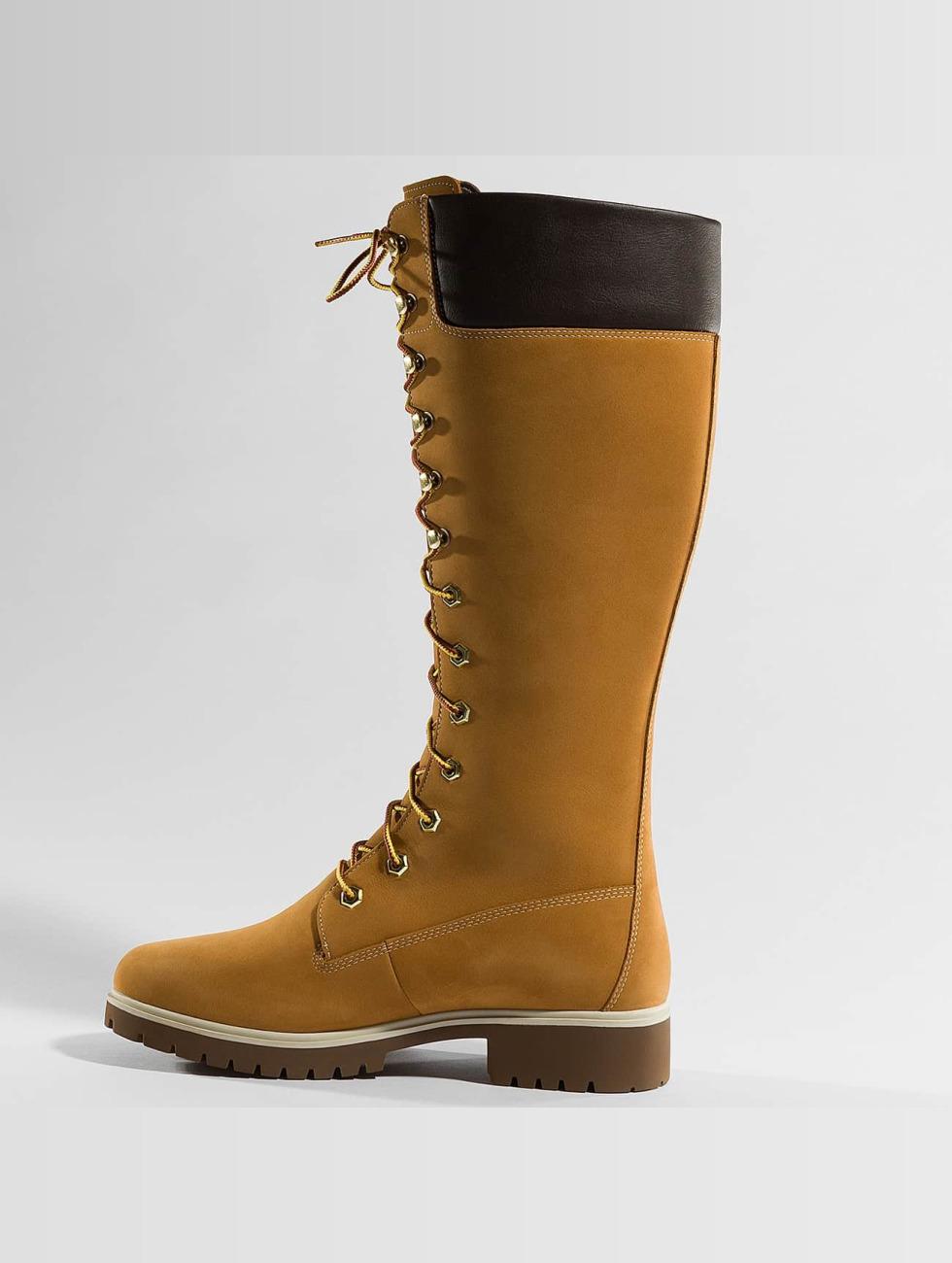 Jeu 2018 Unisexe Vente Pas Cher Exclusive Chaussures Timberland / Boot Premium 14 Pouces Beige Imperméable À L'eau 363 457 pfq3K