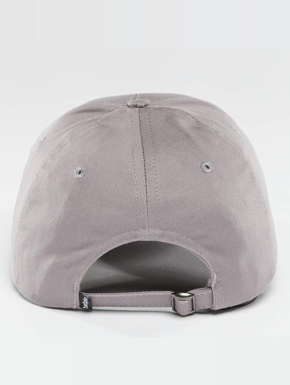 TrueSpin Casquette Snapback & Strapback Blank gris