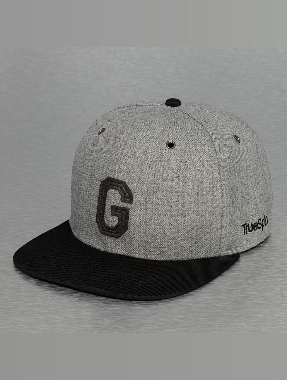 TrueSpin Snapback Cap ABC-G Wool grau