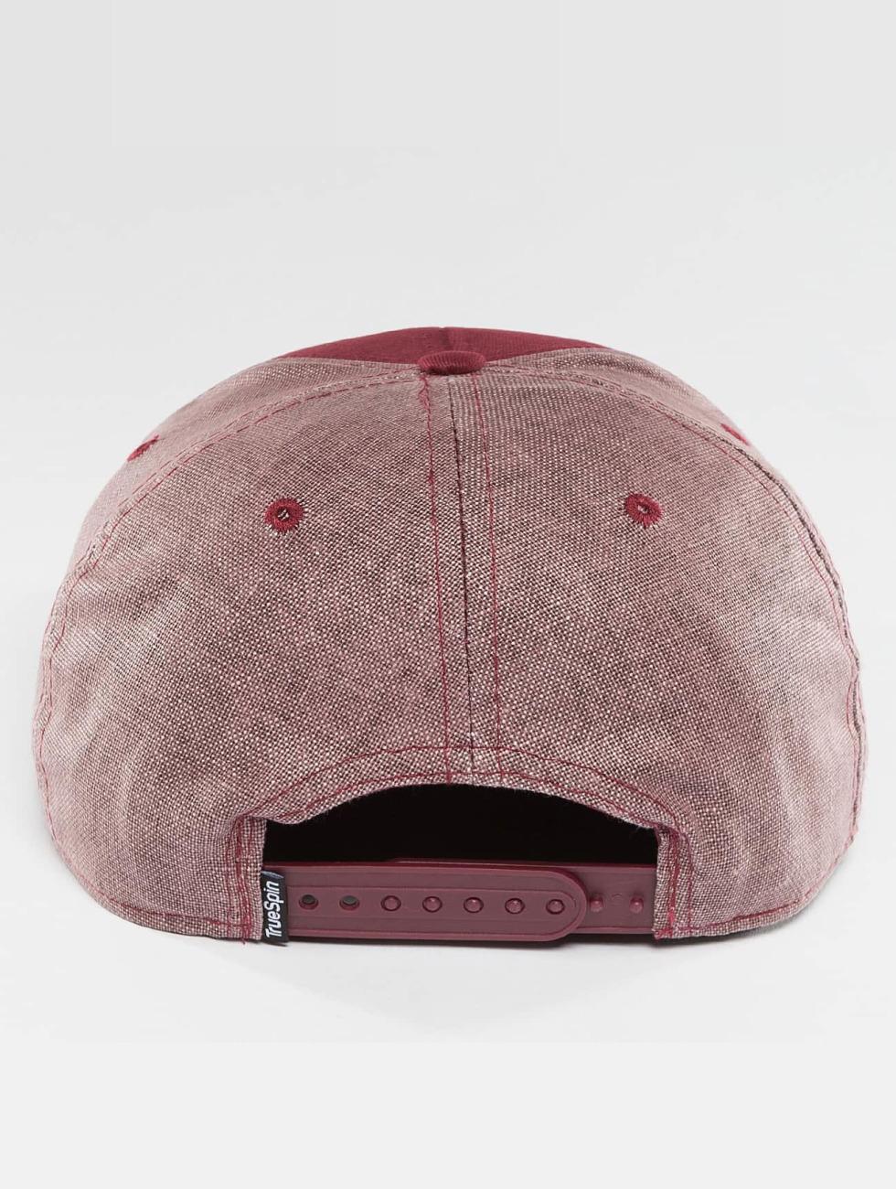 TrueSpin Snapback Cap New Velevet red