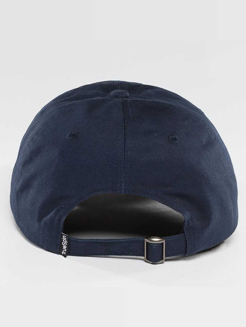TrueSpin Snapback Caps Unstructured Dad blå