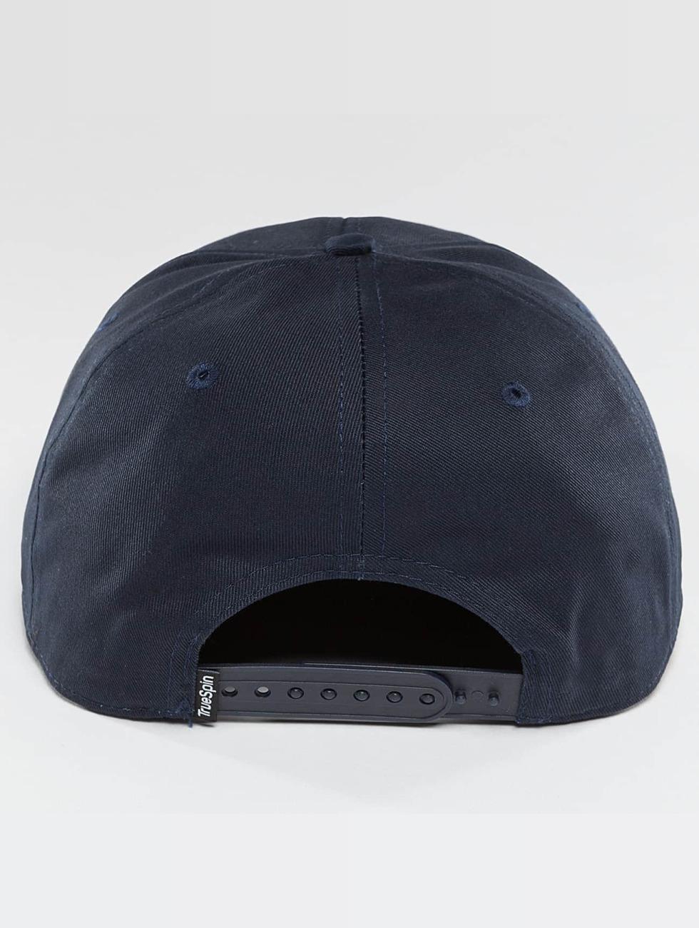 TrueSpin Snapback Caps Täskulap blå