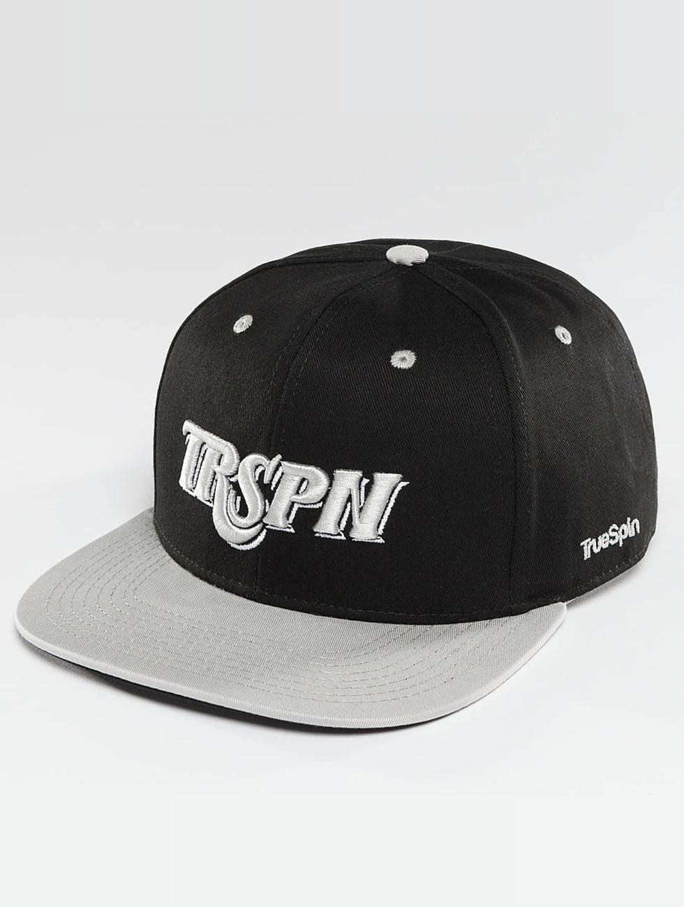 TrueSpin Snapback Caps Team TRSPN svart